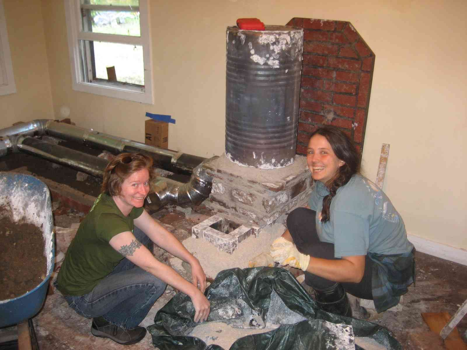Build a wood stove build-it-yourself BIY advice